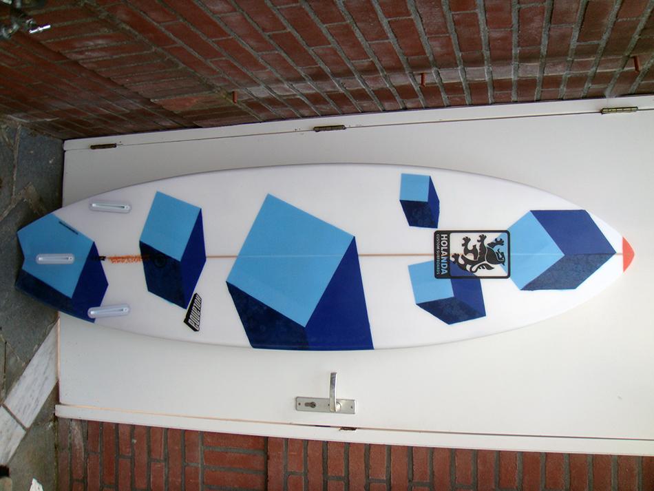 Holanda nr49 Twin+½ bodem