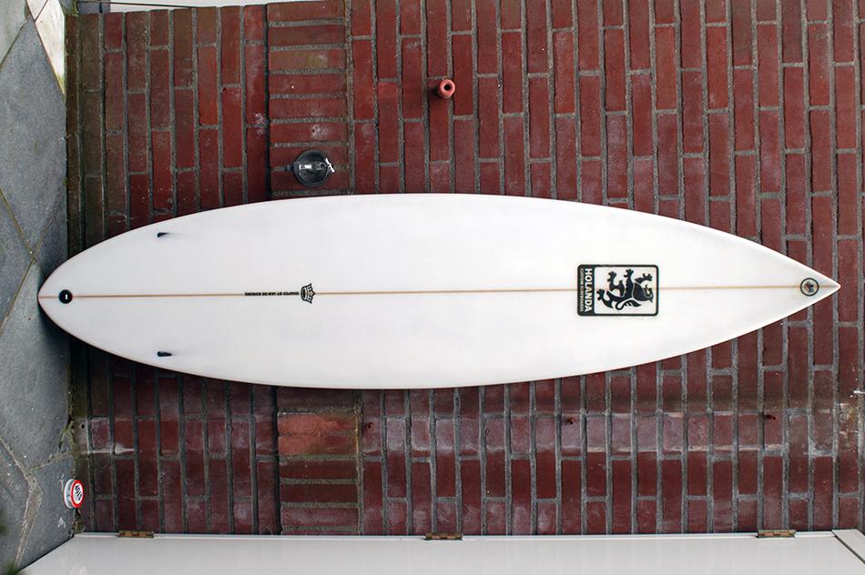 Holanda nr6 Custom Semi-gun deck