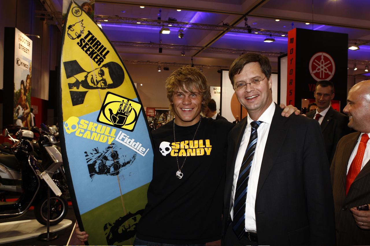 Mike van Westen met 2 x Balkenende